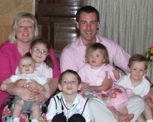 Tiffany, Blayne and their beautiful family.